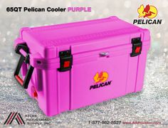 Pelican Products 65QT Elite Cooler from Pelican brand is the best portable ice box. http://store.aishouston.com/index.php?option=com_virtuemart&view=productdetails&virtuemart_product_id=21325&virtuemart_category_id=759