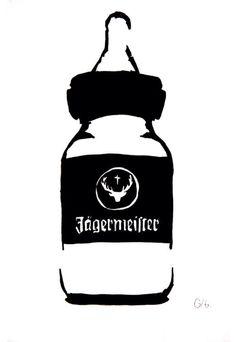 Jägermeister Baby Bottle