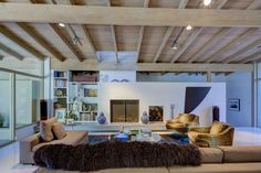 This mid century in Studio City California is currently on the market. Its refreshing to look at a listing with the architecture and the furnishings belong Oak Hardwood Flooring, Terrazzo Flooring, Studio City California, Mcm House, Bookshelves Built In, Post And Beam, Custom Windows, Level Homes, Mid Century House