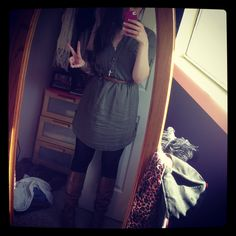 I was so happy with my outfit choice on the first day of school, have to pin it :)