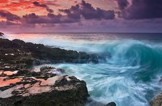 Inspiration:  Sounds of waves crashing...  Half Moon Bay, Cayman Islands...