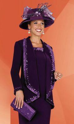 Church Suits for Women | Plus Size Womens Church Suits BenMarc Fifth Sunday Suit 52514 image