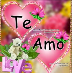 I Love You Images, Love You Gif, Beautiful Love Pictures, Beautiful Gif, Good Morning Messages, Love Messages, Spanish Love Poems, Teddy Bear Quotes, Sunday Greetings