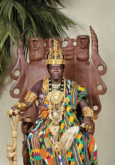 King Bansah rules the Gbi Traditional Area of Hohoe, Ghana. But he doesn't live in Ghana. His home is in Ludwigshafen, Germany, where he works as a car mechanic.