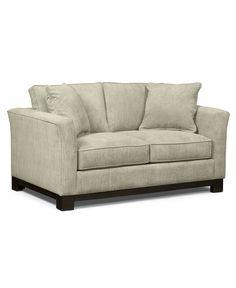 Kenton Fabric Loveseat:Custom Colors - Furniture - Macy's
