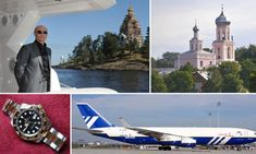 Playboy lifestyle of a president: Putin's  perks include 'palaces, planes, yachts, white gold watches, and a £47,000 toilet'
