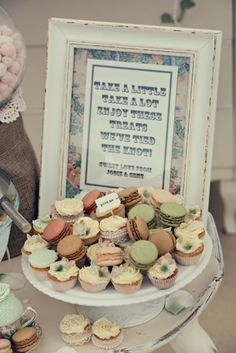 Phot frame made by Tracy Ravenhall, Cakes made by Karen Smith
