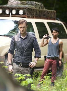 First image of the governor from season 3 of the Walking Dead.