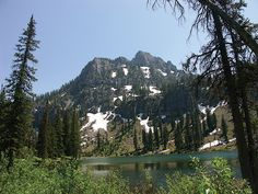 Mount Magog (9,750 feet) and White Pine Lake, Cache National Forest –  Photographer: Ken Krahulec