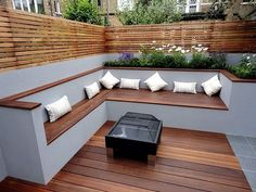 Cozy Backyard Patio Design and Decor Ideas . cozy backyard patio design and decor ideas Source. Cozy Backyard, Backyard Seating, Backyard Patio Designs, Small Backyard Landscaping, Patio Ideas, Landscaping Ideas, Backyard Ideas, Cozy Patio, Deck Ideas With Benches
