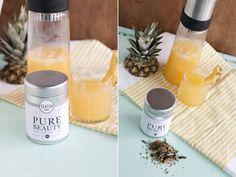 """""""Ice Tea Monday""""- Pineapple Beauty Tea mit dem neuen """"Pure Beauty"""" Tea von Teatox"""