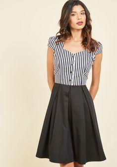 Maker of Merriment A-Line Dress