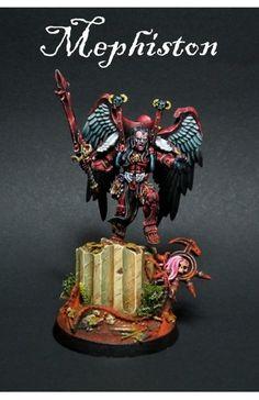 Mephiston Space Marine Blood Angels