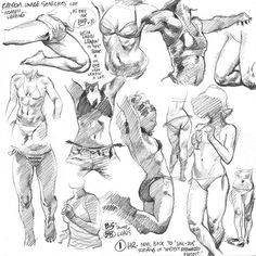 WEBSTA @ adam_warren_art - Lotta ladies leapin' in today's life drawings from photoreference, as practice for one lady leapin' a lot in next year's action-packed EMPOWERED vol. Anatomy Sketches, Anatomy Art, Anatomy Drawing, Drawing Sketches, Animal Sketches, Figure Drawing Reference, Anatomy Reference, Basic Drawing, Life Drawing