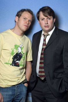 Jeremy and Mark - two of TV's greatest characters in one show.