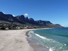 Camps Bay's wide beach, spacious lawns and beachfront café's make it a sought-after location for a day of sun-bathing, picnicking and celebrity spotting. Cape Town Accommodation, Luxury Holidays, South Africa, The Good Place, Places To Go, Camps, Explore, Park, City
