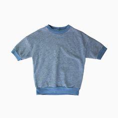 miki short sleeve pullover (rain)