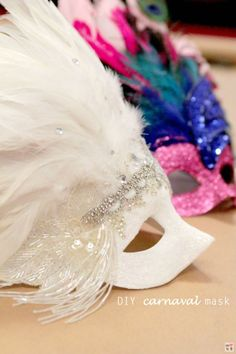 Carnival Mardi Gras Mask | 7 DIY Mardi Gras Masks