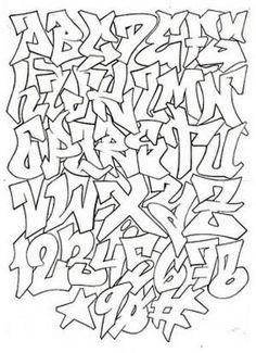 1000+ ideas about Graffiti Alphabet on Pinterest | Graffiti ...