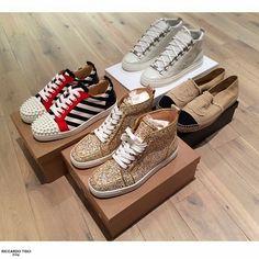 Christian Louboutin and Balenciaga Sneakers, Chanel Canvas Espadriles www.spentmydollars.com