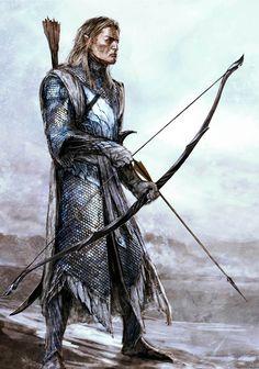 Elven Archer, The Hobbit concept art