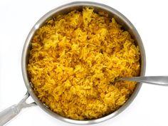 Fluffed Yellow Jasmine Rice