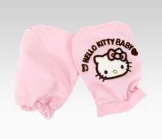 Hello Kitty Baby Mittens