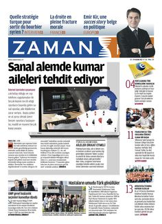 Zaman France N° 240 - newpaper design - journal hebdo