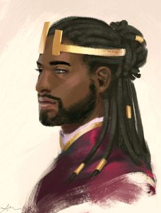 Non-Eurocentric fantasy/sci-fi/horror art and inspiration depicting heroes, villains, gods and monsters. Content is not my own, but is attributed where possible. Prince Dragon, Dragon Princess, Black Characters, Fantasy Characters, Cartoon Characters, Fantasy Inspiration, Character Inspiration, Character Portraits, Character Art
