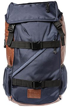 Flud Watches Backpack Tech In Blue And Brown