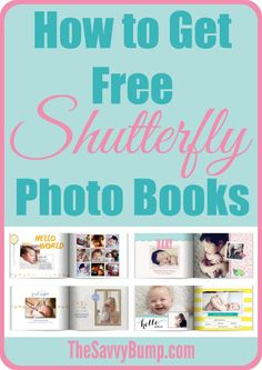 You will never have to pay for a Shutterfly photo book again thanks to all these great ways to score one for free! (Includes a free pregnancy photo book!