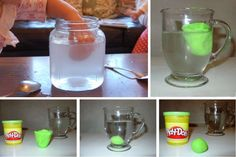 10 scientific experiments of less than 30 minutes