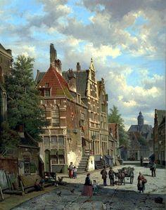 Artist Willem Koekkoek was born in 1835 in Amsterdam, the son of renowned Dutch marine painter Hermanus Koekkoek.