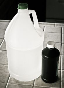 Natural Cleaning with Vinegar and Hydrogen Peroxide