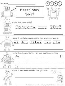 Tunstall's Teaching Tidbits: 2012 Morning Work Freebie and Another Top Ten!