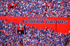 Ben Hill Griffin Stadium at Florida Field is The Home of the #GATORS. University of Florida, Gainesville, FL. www.GainesvilleFloridaHomes.com