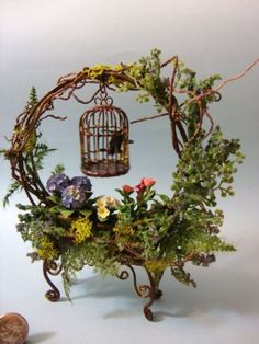 Basket idea from Wendy Dawson.