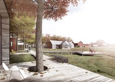 A masterplan by Ennead Architects and RAFT Landscape Architecture for a nonprofit farm in New York aims to address two problems in the US: high unemployment among military veterans and a shortage of agricultural workers.