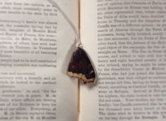Real Mourning Cloak Butterfly Necklace  by Fleurium on Etsy https://www.etsy.com/listing/227987797/real-mourning-cloak-butterfly-necklace