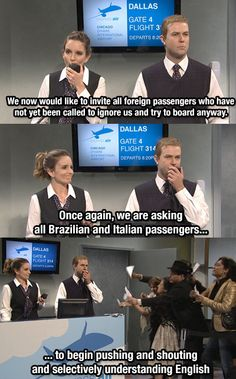"""After 8 years traveling back and forth from the U.S. and Brazil, I couldn't stop laughing at this SNL joke"""