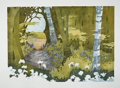 Chiltern Seasons Spring by laura Boswell