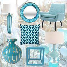 Utiliza el color azul y el negro para activar el Norte de tus hogares y negocios. En este sector ten preferencia por las formas onduladas y redondas. Feng Shui