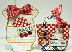 SWEET BOY - Scrapbook.com - Sweet cards. #scrapbooking #cardmaking #baby #advantus