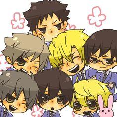 Tags: Anime, Ouran High School Host Club, Hitachiin Kaoru, Hitachiin Hikaru, Fujioka Haruhi