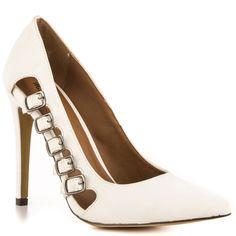 Michael Antonio Lanstrong - White Pu      $55 BUY ➜ http://shoespost.com/michael-antonio-lanstrong-white-pu/