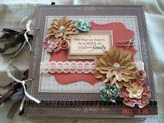 Scrapbooking by Phyllis: Family Premade 12x12 Chipboard Scrapbook Album