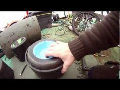 Cheap Drift trike wheels 3 (Barrow wheel mod 2 (add motorbike bearings and strengthen) - YouTube