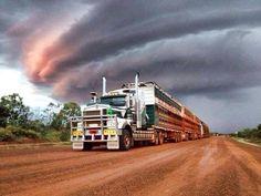 Road train NT Australia