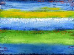 Spring Meadow by Robin Jorgensen, Mixed Media | Zatista