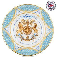 【The Royal Collection】 QUEENS 90TH BIRTHDAY Side Plate  バッキンガム宮殿 エリザベス女王90歳バースデー サイドプレート